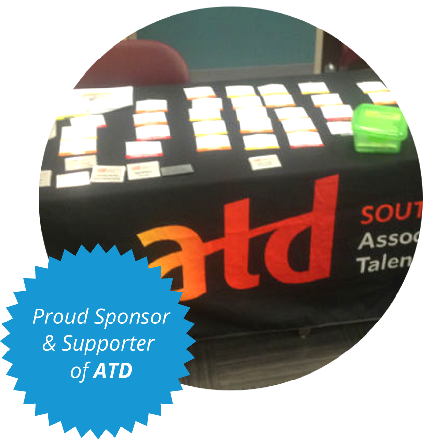 Proud Sponsor and Supporter of ATD!