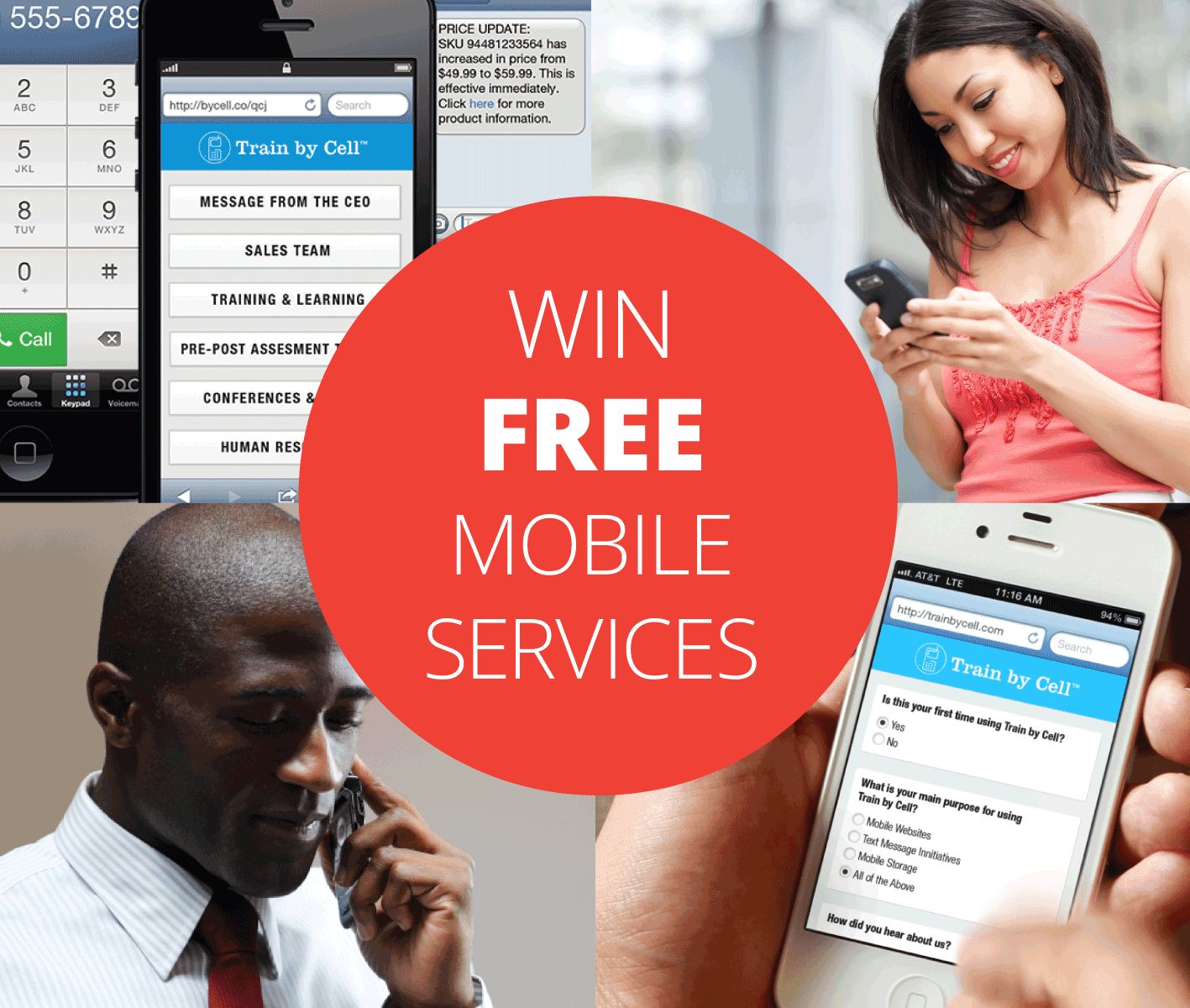 Win Free Mobile Services